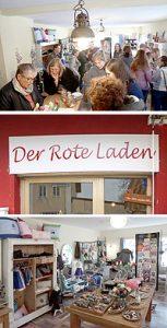 Der Rote Laden Eröffnung